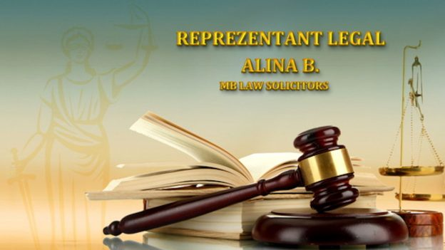 MB Law Solicitors – Reprezentant legal român (Alina B.)