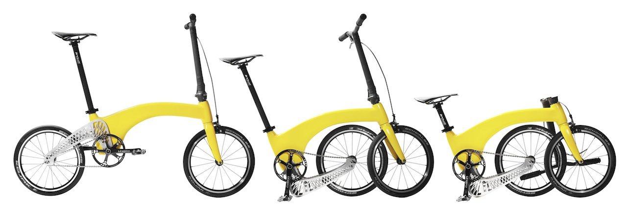 Hummingbird Bike - bicicleta pliabilă creată la Londra de doi români