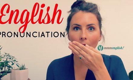 Lecție de engleză – Syllable stress (pronunție; accentul pe silabe)