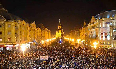 Protest Timișoara – discursul unui tânăr german (video)