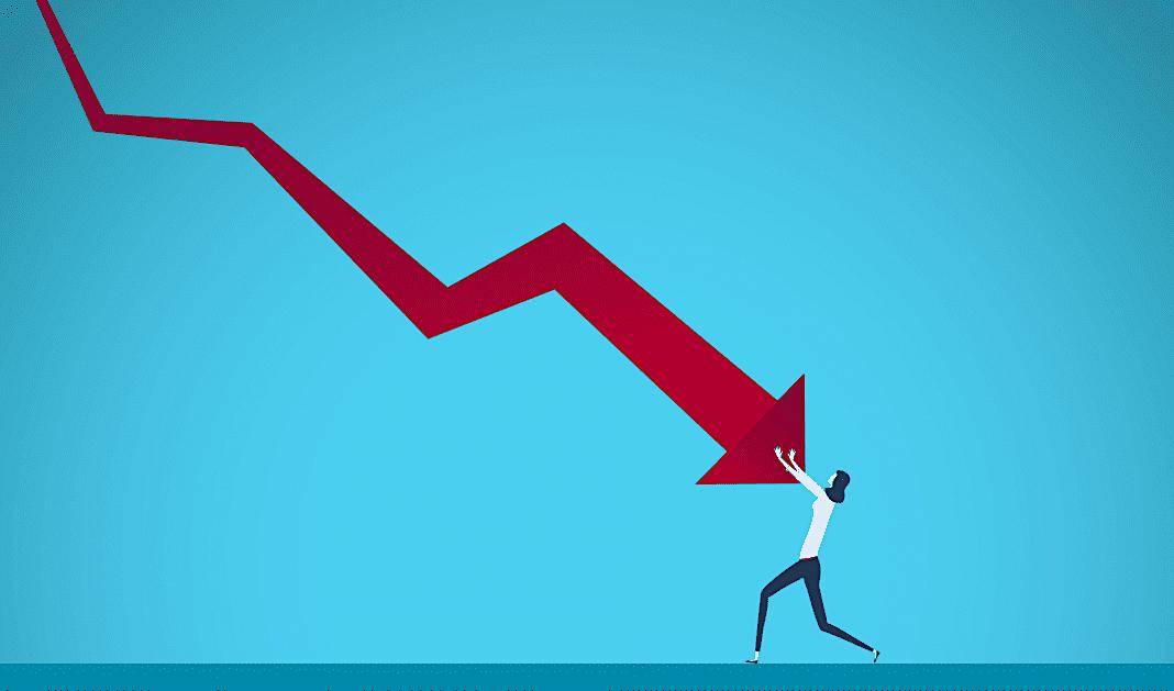 Recession Scădere fără precedent a economiei britanice