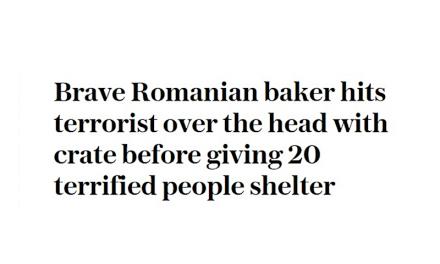 Atentat: Presa britanică despre eroul-român Florin Morariu