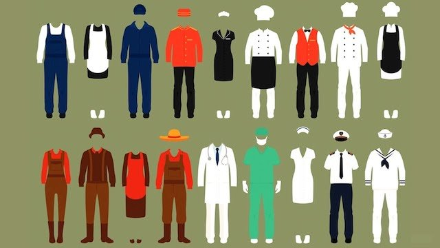 Lecție de engleză – Our fascination for uniforms (video)