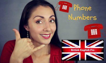 Lecție de engleză – Quoting a Phone Number