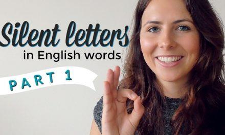 Lecție de engleză cu… Emma: Silent Letters (Partea I)