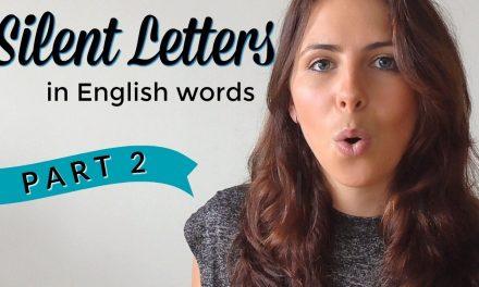 Lecție de engleză cu… Emma: Silent Letters (Partea II)
