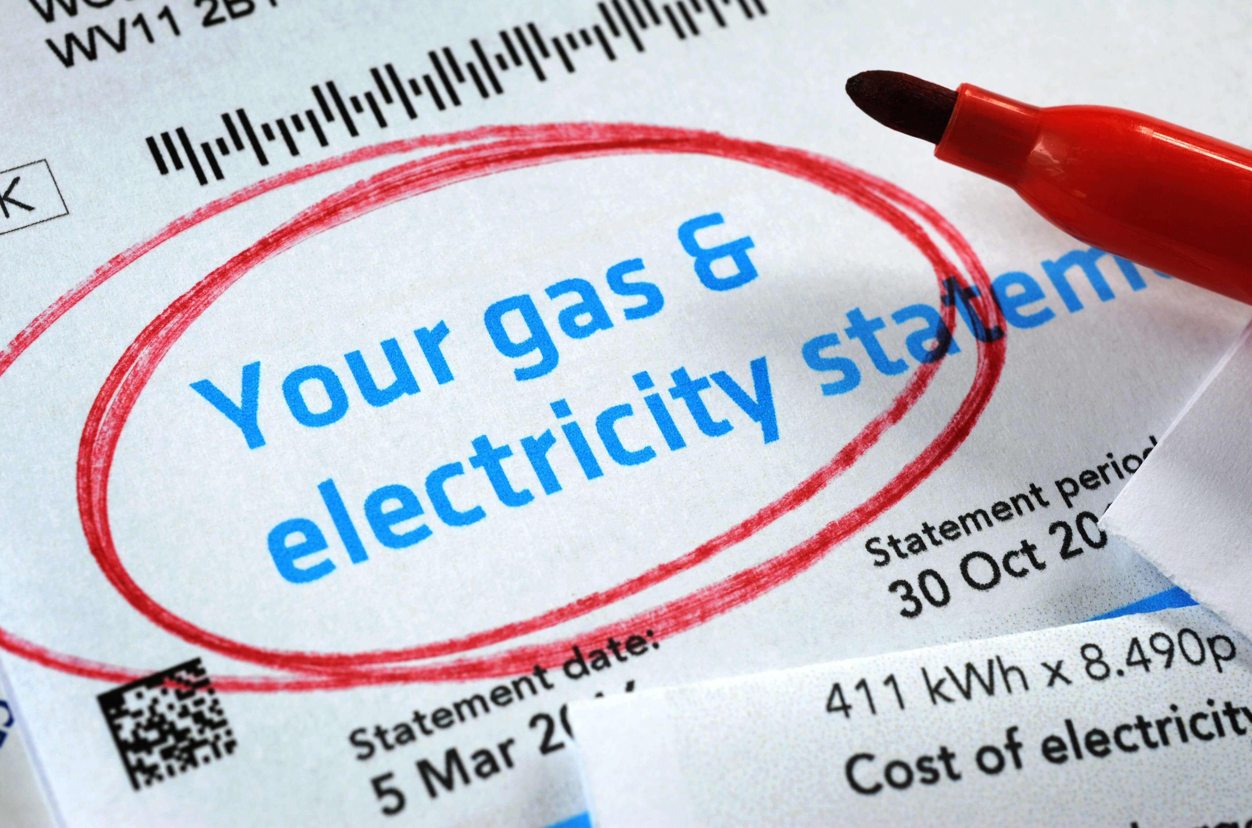 Tarifele la energie din UK