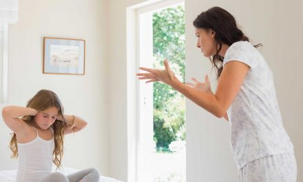 Când vine vorba de disciplină, nu este nevoie să țipi la copil